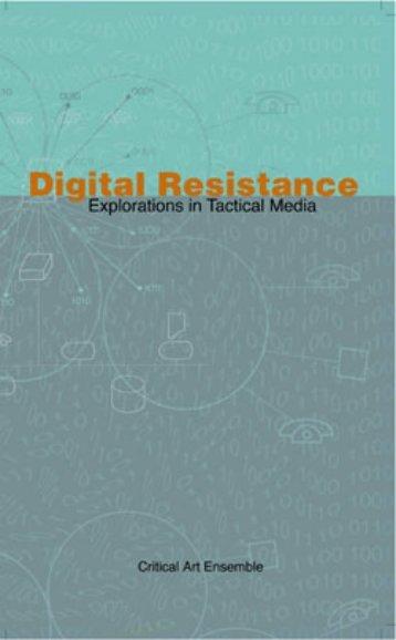 Digital Resistance (CAE) - Tactical Media Files