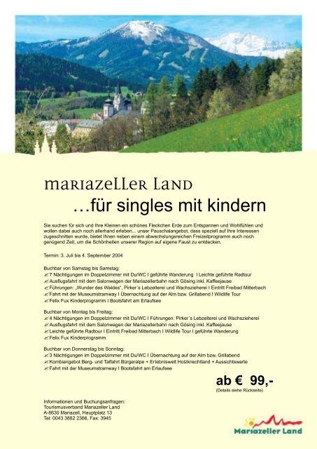 Mder single - Mariazell sie sucht ihn