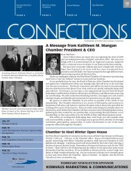 A Message from Kathleen M. Mangan Chamber President & CEO