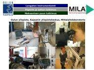 MILAn esittelykalvot 2007.pdf SUOMI - Oulun yliopisto ...