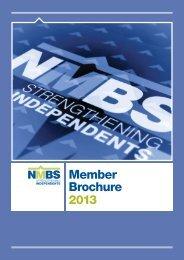 Member Brochure 2013 - NMBS