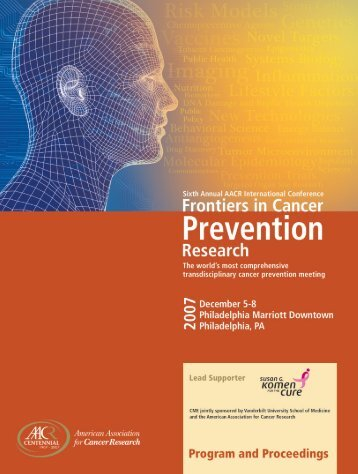 Front Matter - Cancer Prevention Journals Portal