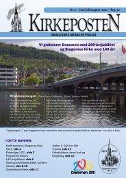 Nr. 2 juni-august 2011 - Den norske kirke i Drammen