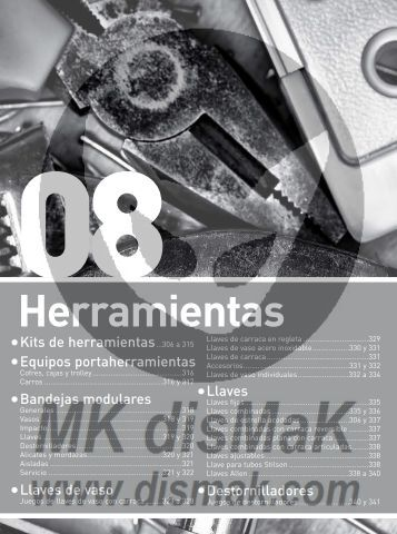Kits de herramientas - catalogo
