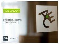 Corporate Presentation - ACE Group