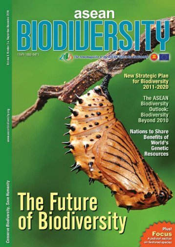 Download the PDF version of the ASEAN Biodiversity Vol. 9 No 3 ...