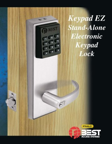 Keypad EZ 1/20/04 (Page 1) - Best Access Systems