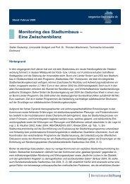 Monitoring des Stadtumbaus – Eine Zwischenbilanz - Wegweiser ...