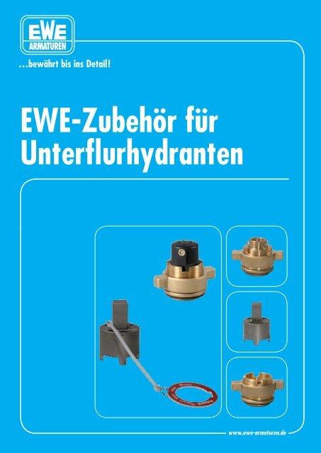EWE-Zubehör für Unterflurhydranten