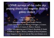 LOFAR surveys of the radio sky: probing shocks and magnetic fields ...