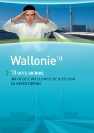 die wallonische region - Invest in wallonia