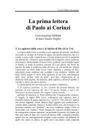 03) La sapienza della croce (1Cor 2-4) - Symbolon.net