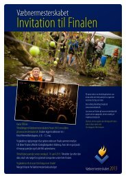 Hent invitation - Leder - FDF
