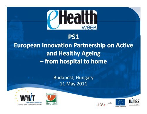 European Innovation Partnership on Active and Healthy Ageing ...