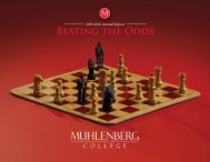 Beating the Odds - Muhlenberg College