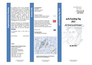 ecfs-Funding-Tag 2012
