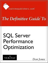 The Definitive Guide to SQL Server Performance ... - MarketingSherpa