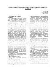 Inmunoprofilaxis de las enfermedades infecciosas - Instituto de ...
