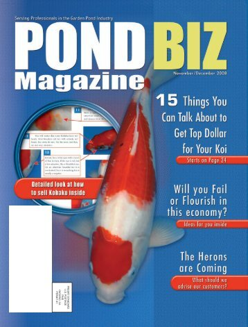 PondBiz NovDec08 - Pond Trade Magazine