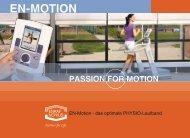 EN-Motion - das optimale PHYSIO-Laufband - Physiotherapie