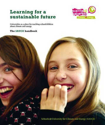 The SAUCE Handbook - Schools at University for Climate and Energy