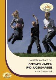 offenen kinder- und jugendarbeit - Steirischer Dachverband der ...