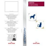 HEPATIC - ROYAL CANIN Tiernahrung GmbH & Co. KG