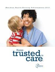 Nurses - K. Hovnanian Children's Hospital
