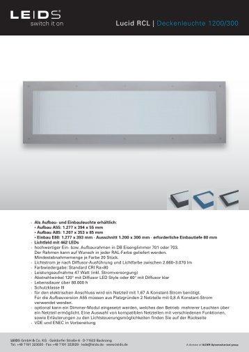 Produktblatt 1200 × 300 - LEIDS