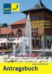Antragsbuch zum 65. Landeskongress - Junge Liberale Rheinland ...