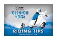 Scooter Tips - Motorcycle Training Academy