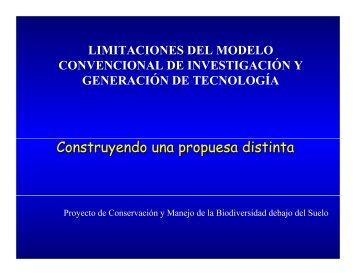 Modelo de transferencia de tecnología