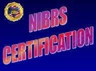 nibrs certification
