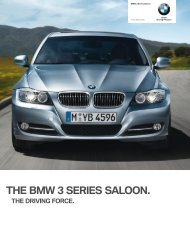 THE BMW SERIES SALOON.
