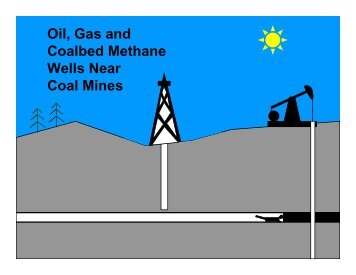 Oil, Gas and CBM Wells Near Coal Mines - Office of Fossil Energy