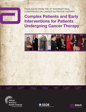 Complex Patients and Early Interventions for ... - Abbott Nutrition