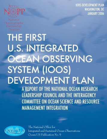 the first us integrated ocean observing system ... - IOOS Association
