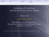 Increasing Life Expectancy and Pay-As-You-Go Pension Systems
