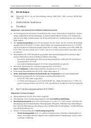 IV. Rechtsfolgen 1. Zivilrechtliche Sanktionen a) Überblick b) Der ...