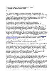 Bericht - pdf - Museumsverband Brandenburg e.V.