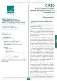 Mise en page 1 - Centre International de Recherche sur l ...