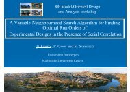 A Variable-Neighbourhood Search Algorithm for Finding Optimal ...