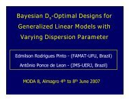 Bayesian D -Optimal Designs for Generalized Linear Models with ...