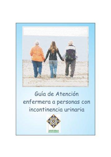 guía de atención a pacientes con incontinencia urinaria - AGEFEC