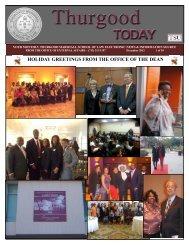 December 2012 - Thurgood Marshall School of Law