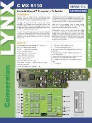 CardModules - LYNX Technik AG