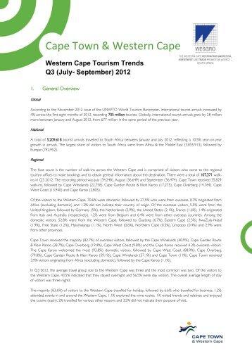 Cape Town & Western Cape - Cape Town Tourism