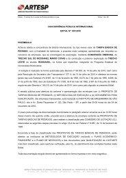 CONCORRÊNCIA PÚBLICA INTERNACIONAL EDITAL Nº ... - Artesp
