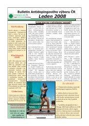 Bulletin ADV ČR 2008