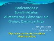 Intolerancia y Sensitividades Alimentarias - Curando el Autismo